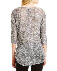 Jessica Simpson - Black Cutout Sleeve Sweater - Lyst