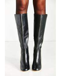 Urban Outfitters - Black Rita Tall Heeled Boot - Lyst