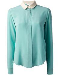 Chloé | Green Classic Shirt | Lyst