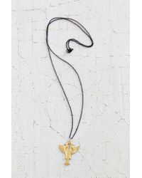 Urban Outfitters | Metallic Harot Pendant Necklace | Lyst
