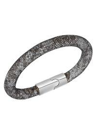 Swarovski Black Stardust Double Bracelet Medium 40cm