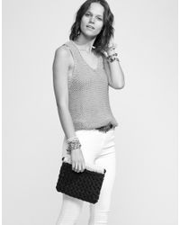 Wool And The Gang | Gray Hold Tight Duo Clutch | Lyst