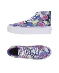 Vans | Purple High-tops & Sneakers for Men | Lyst