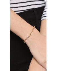 Shashi - Blue Lilu Ball Bracelet - Lyst