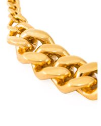 Vibe Harsløf | Metallic Curb Chain Necklace | Lyst