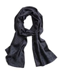 Brooks Brothers   Blue Silk Paisley Scarf for Men   Lyst