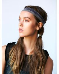Free People | Brown Jane Tran Womens Two Tone Yoga Headband | Lyst