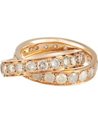 Roberto Marroni - Metallic Stacked Ring - Lyst