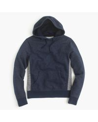 J.Crew | Blue Colorblock Hoodie for Men | Lyst