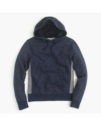J.Crew | Blue Colorblock Hoodie for Men | Lyst