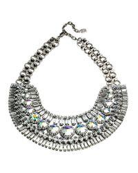 DANNIJO - Metallic Bea Collar Necklace - Lyst
