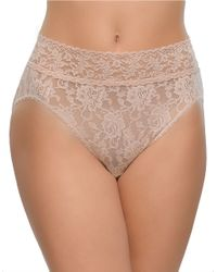Hanky Panky | Natural Lace French Briefs | Lyst