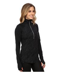 Under Armour | Black Ua Fly Fast Luminous 1/2 Zip | Lyst