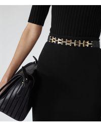 Reiss   Black Melinda Neoprene Pencil Skirt   Lyst