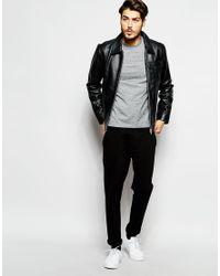 ADPT | Black Leather Jacket for Men | Lyst