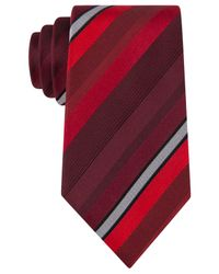Kenneth Cole Reaction | Purple Main Stripe Tie for Men | Lyst