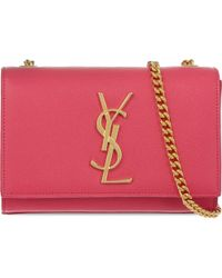 Saint Laurent | Pink Small Chain Over The Shoulder Handbag - For Women | Lyst