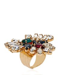 Anton Heunis - Green Bollywood Princess Collection Ring - Lyst