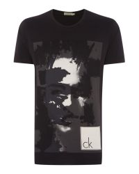 Calvin Klein | Black Takabba T-shirt for Men | Lyst