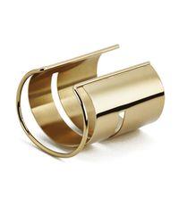 By Malene Birger | Metallic Women's Hacia Cuff Bracelet | Lyst