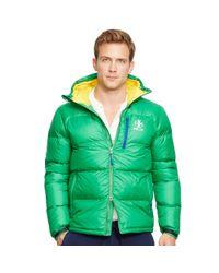 Ralph Lauren - Green Water-resistant Down Jacket for Men - Lyst