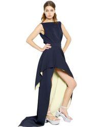 Vionnet - Blue Viscose Caddy Long Dress - Lyst