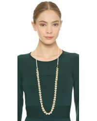 Eddie Borgo - Metallic Mini-Cone Gold-Plated Necklace - Lyst