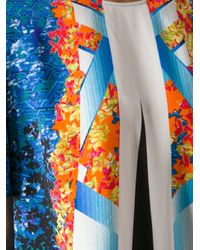 Peter Pilotto | Multicolor Abstract Print Top | Lyst