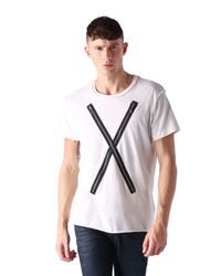 DIESEL | White T-odil for Men | Lyst