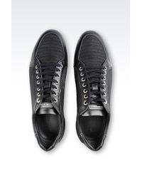Emporio Armani - Gray Sneakers for Men - Lyst