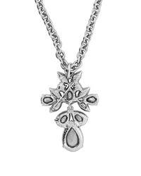 Oscar de la Renta - Blue Teardrop Crystal-embellished Brooch And Necklace - Lyst
