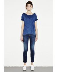 M.i.h Jeans - Blue Flori Tee - Lyst