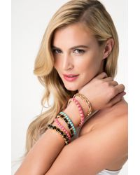 Bebe - Multicolor Colorful Bracelet Set - Lyst