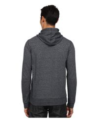 Vince - Blue Long Sleeve Pullover Hoodie for Men - Lyst