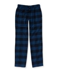 Aéropostale | Blue Buffalo Check Flannel Pants for Men | Lyst
