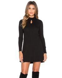 RVCA - Black Into First Mini Dress In - Lyst