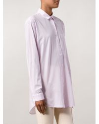 ATM | Purple Boyfriend Shirt | Lyst