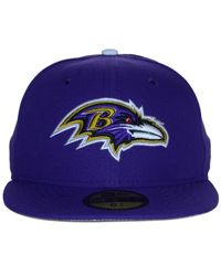KTZ - Purple Kids' Baltimore Ravens Thanksgiving On-Field Reflective 59Fifty Cap for Men - Lyst