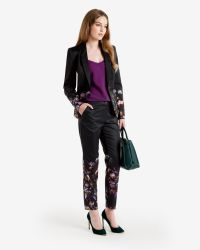 Ted Baker - Purple Scalloped Edge Cami Top - Lyst