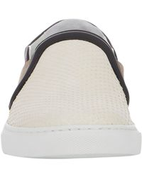Lanvin - White Python Slip-On Sneakers - Lyst