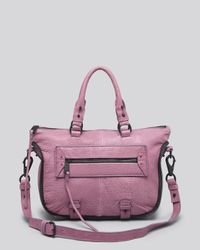 She + Lo - Purple Satchel - Rise Above Mini - Lyst