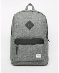 Herschel Supply Co. | Black Heritage Backpack for Men | Lyst