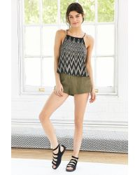 Silence + Noise - Gray Tarlee Open-back Cami - Lyst