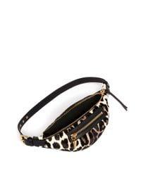 Giuseppe Zanotti - Multicolor Leopard Print Calf-hair Waistpack - Lyst