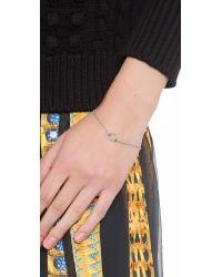 Eddie Borgo | Metallic One Cone Bracelet | Lyst