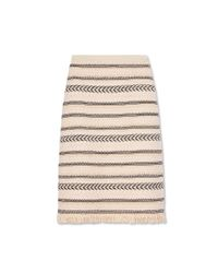 Tory Burch - Natural Jacquard Sweater Skirt - Lyst