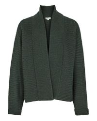 Reiss | Green Maya Oversized Cardigan | Lyst