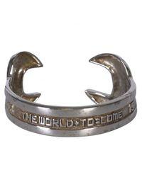 KTZ | Metallic Kokon To Zai Silver Spanner Bracelet Cuff | Lyst