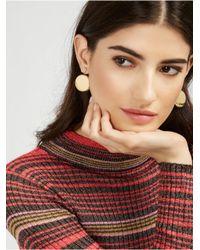 BaubleBar - Metallic Ornament Ear Jackets - Lyst