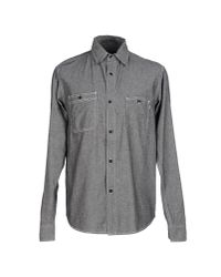 Stussy - Black Shirt for Men - Lyst